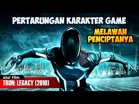PERTARUNGAN KARAKTER GAME MELAWAN PENCIPTANYA | ALUR CERITA FILM TRON: LEGACY (2010)