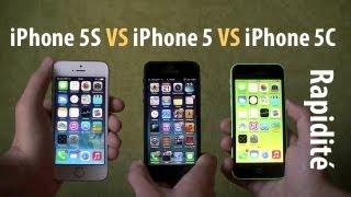 Video iPhone 5S VS iPhone 5C VS iPhone 5 - Comparatif Rapidité et Jeux (Geekbench, Démarrage, Safari, etc) MP3, 3GP, MP4, WEBM, AVI, FLV Oktober 2017