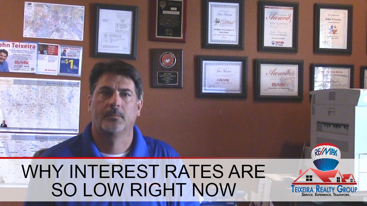 Why Mortgage Rates Are So Low Right Now