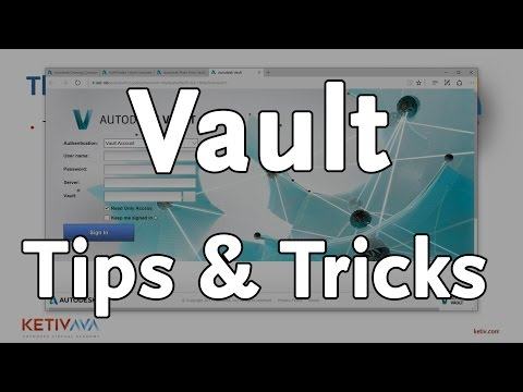 Autodesk Vault Tips from the Trenches | Autodesk Virtual Academy