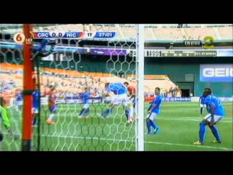 Costa Rica 3-0 Nicaragua (Fecha 1, Copa Centroamericana 2014)