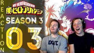 SOS Bros React - My Hero Academia Season 3 Episode 3 - Revelry in the Dark!!