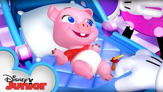 Video Adventures in Piggy Sitting | Minnie's Bow-Toons | Disney Junior MP3, 3GP, MP4, WEBM, AVI, FLV Mei 2017