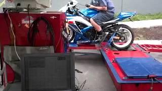 9. 2009 Suzuki GSXR-600 dyno