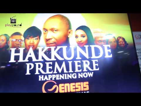 MOVIE PREMIERE 'HAKKUNDE' Produced By - OLUSEYI ASURF
