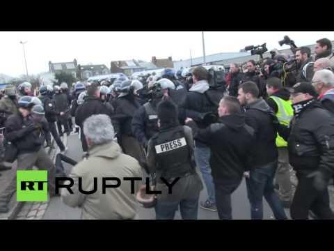 Prag: Demonstranti zapalili centar za pomoć izbeglicama