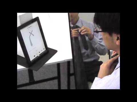 Video of ネクタイの結び方辞典 声操作で結びやすい!