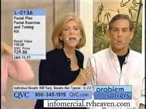 Face Exerciser Infomercial