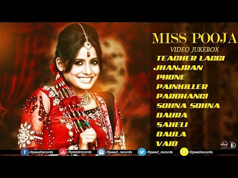 Video Best Of Miss Pooja | Video Jukebox | Latest Punjabi Songs | Speed Records download in MP3, 3GP, MP4, WEBM, AVI, FLV January 2017