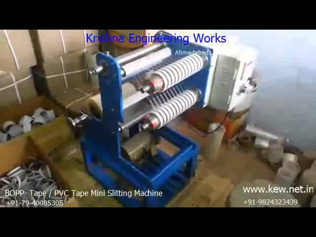 BOPP Tape Mini Slitting Machine
