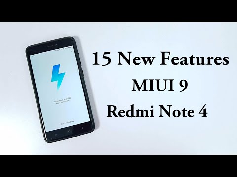 15 New Features of MIUI 9 on Redmi Note 4