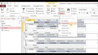 Microsoft Access 2013 pt 4 (Table Relationship)