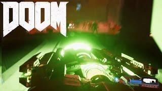 DOOM BFG-9000 Gameplay + BOSS FIGHT! (Doom 2016)