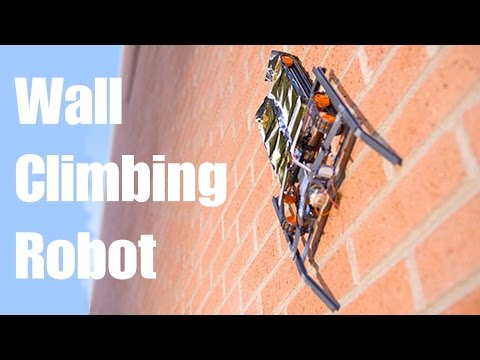 Disney unveils the Wall Climbing Robot - VertiGo