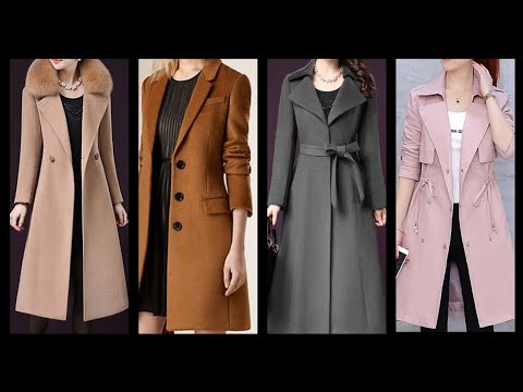 Fabulous collection of winter long coat/jackets trench coat A Line style exclusive coat design ideas