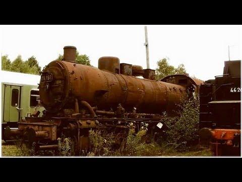 Unbelievable: Locomotive Graveyard!