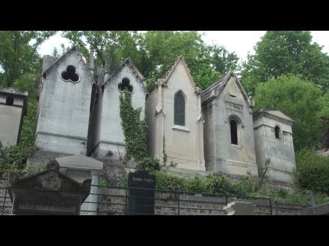 Cemetery - A twenty-minute visit to the world's most famous cemetery, Père Lachaise Cemetery in Paris, France. More than a million people have been buried at Père Lacha...