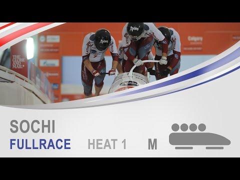 Sochi | 4-Man Bobsleigh Heat 1 World Cup Tour 2014/2015 | FIBT Official