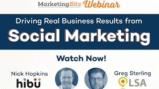 Driving Real Business Results from Social Marketing