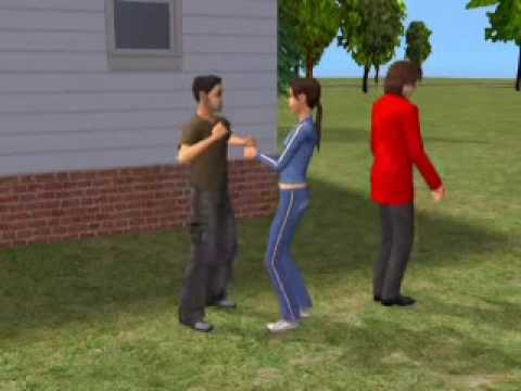 Jalal Chandio in Sims 2 dance on song