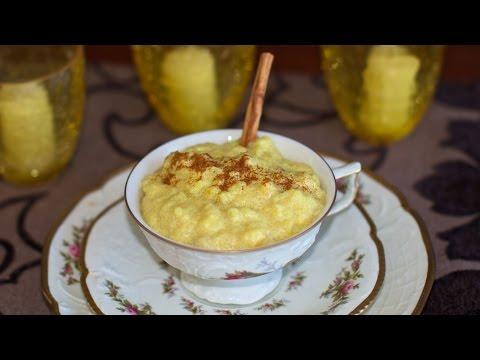 Creamed Banana Rice & Polenta Porridge – Vegan Breakfast or Dessert Idea!