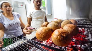 Video GIANT MEAT BALLS in Lebanon - Special KIBBEH Lebanese Food! MP3, 3GP, MP4, WEBM, AVI, FLV Agustus 2019