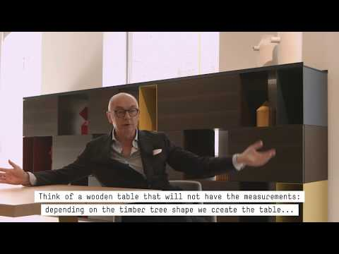 Porro - Porro - video interview to Piero Lissoni @ showroom Porrodurini15 - Milano design week 2018