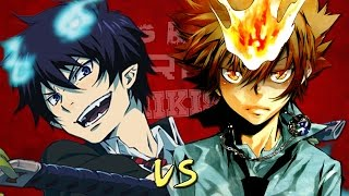 Tsuna Sawada vs Rin Okumura. Épicas Batallas de Rap del Frikismo  Keyblade ft. Kinox