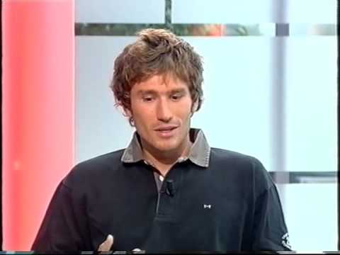 Guillaume Néry, invité du JT de 13h de France 2