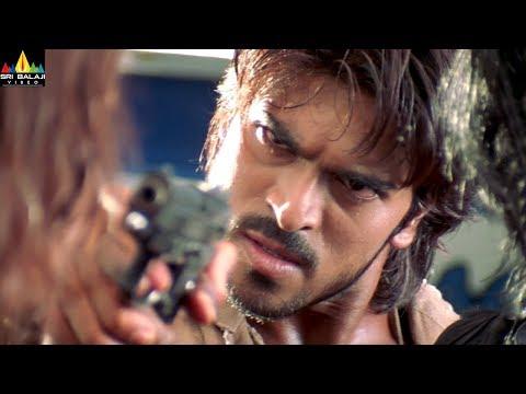 Chirutha Movie Scenes   Ram Charan Saves Neha Sharma   Puri Jagannadh   Sri Balaji Video