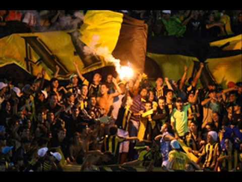 Aca esta la famosa banda de peñarol+Letra - Barra Amsterdam - Peñarol