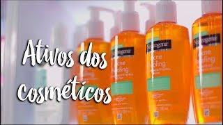 Ativos dos cosméticos
