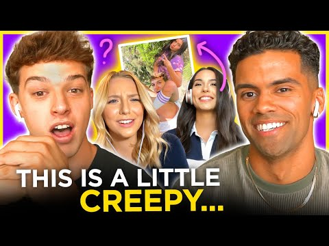 Nate Wyatt and Sean Kennedy's REACTION to Photoshop DATING Challenge   Date Drop   AwesomenessTV