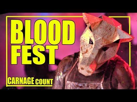 Blood Fest (2018) Carnage Count