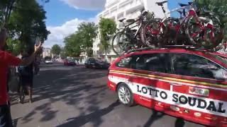 Colombes France  City pictures : Le Tour de France est à Colombes