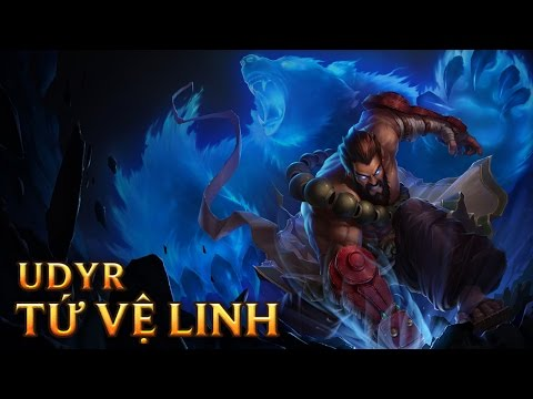 Udyr Tứ Linh Vệ Hồn - Spirit Guard Udyr