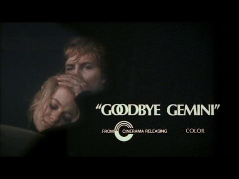 GOODBYE GEMINI - (1970) Trailer