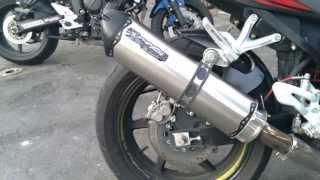 8. Hyosung GT650R VS Yamaha FZ6 Two Brothers Racing