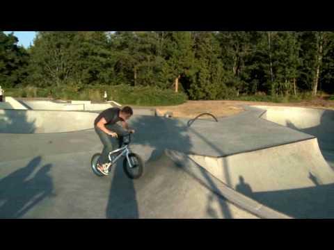 BMX Stunts Bellingham Skate Park
