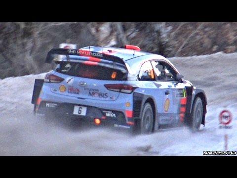 wrc rally montecarlo 2017: sebastien ogier trionfa nel principato