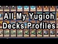 All My Yugioh Decks Profiles Recipies Free Download! Or Copy via DN!