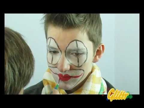 Kinderschminken: Clown schminken