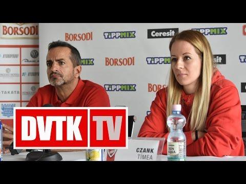 Sajtótájékoztató az Aluinvent DVTK - PINKK mérkőzés előtt | 2017.02.24. | DVTK TV