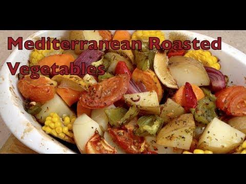 Mediterranean Diet: How to Make Mediterranean Oven Roasted Vegetables