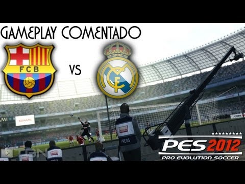 PES 2012 | F.C. Barcelona vs Real Madrid | Gameplay Comentado | PS3 | HD