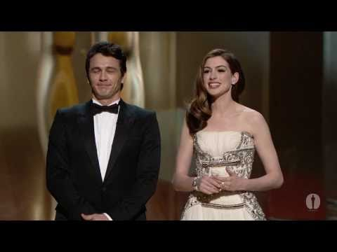 host - Hosts James Franco and Anne Hathaway's opening monologue at the 83rd Academy Awards® in 2011.