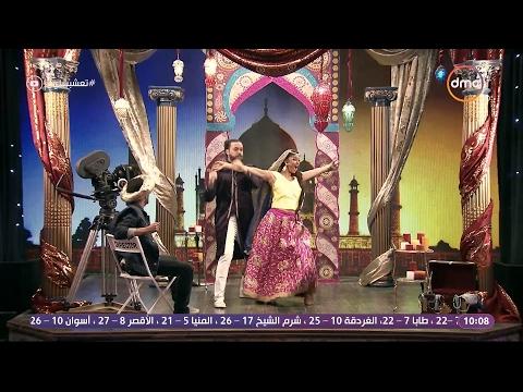 شاهد- غادة عادل وعبد الفتاح الجريني في فيلم هندي