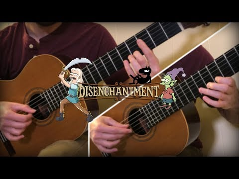 Disenchantment - Ep. 9 End Credits Theme (Guitar Cover)