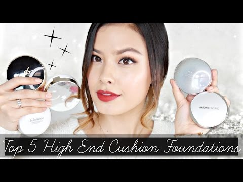 Video MY 5 HOLY GRAIL LUXE CUSHION FOUNDATIONS | High-End Cushion Recommendations download in MP3, 3GP, MP4, WEBM, AVI, FLV January 2017