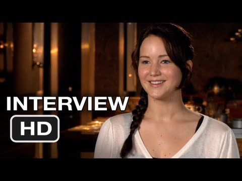 The Hunger Games - Jennifer Lawrence Interview (2012) HD Movie Video